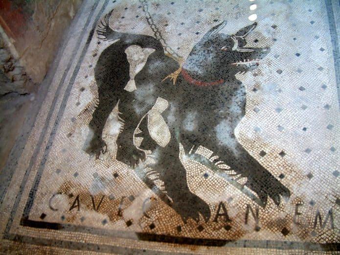 Scavi di Pompei : Casa del poeta tragico