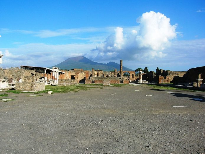Il Foro di Pompei. Visitare Pompei Scavi
