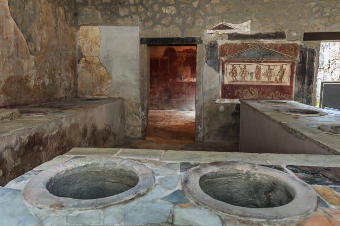 Visitare Pompei - Thermopolium di Vetitius Placidus