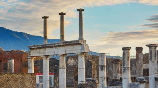 Visitare Pompei con bambini