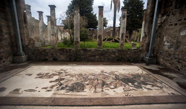 visitare gli scavi di Pompei: la Casa del Fauno