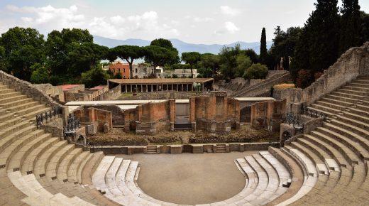 Il teatro di Pompei