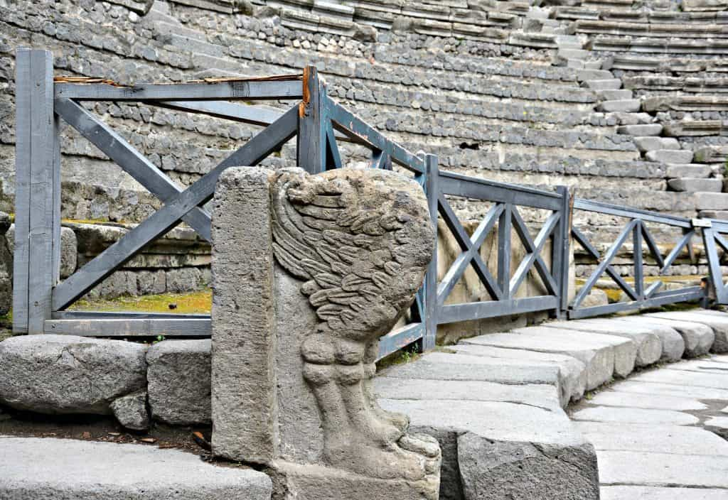 Il teatro grande a Pompei, attrazione da visitare sicuramente