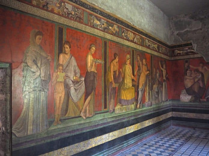 Vedere Pompei in un giorno: la Villa dei Misteri