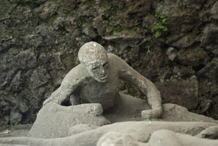 I calchi di Pompei. Biglietti scavi