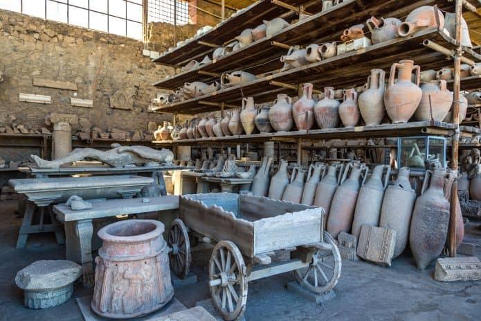 I granai del foro di Pompei, sicuramente da visitare