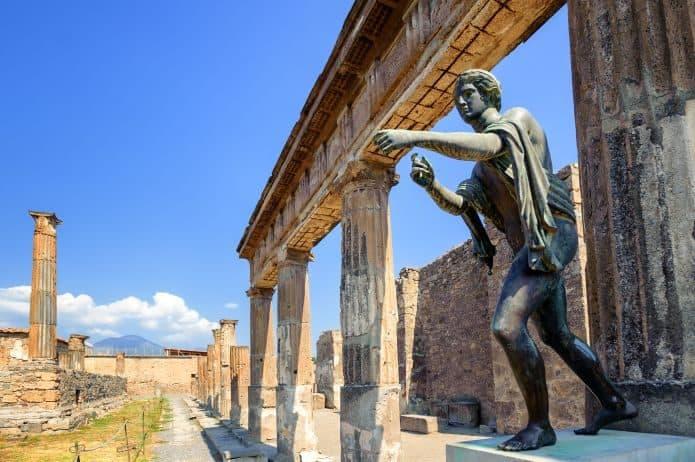 Il tempio di Apollo - Visita agli scavi di Pompei