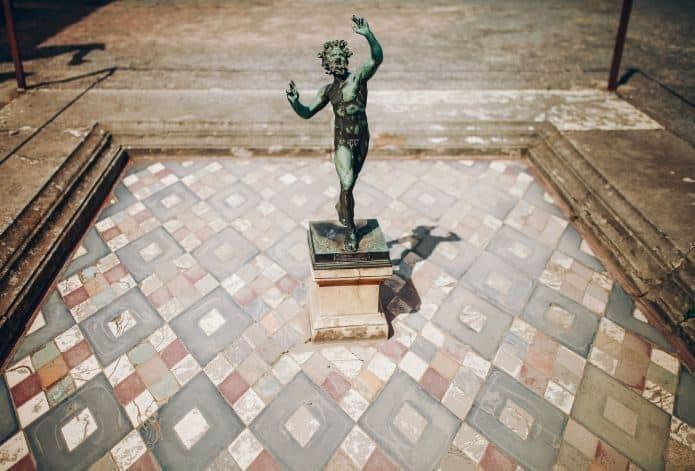 La Casa del Fauno agli scavi di Pompei