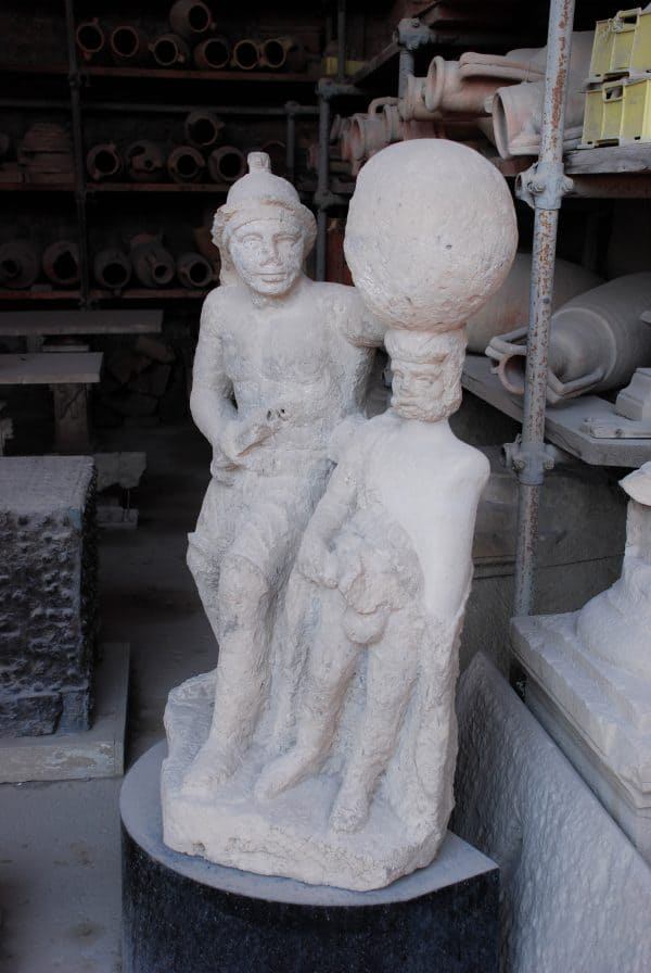Visitare Pompei con bambini: i granai del foro