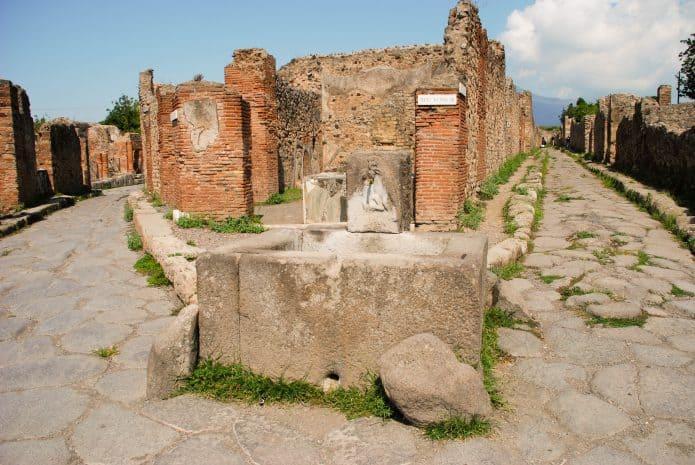 Visitare gli scavi di Pompei