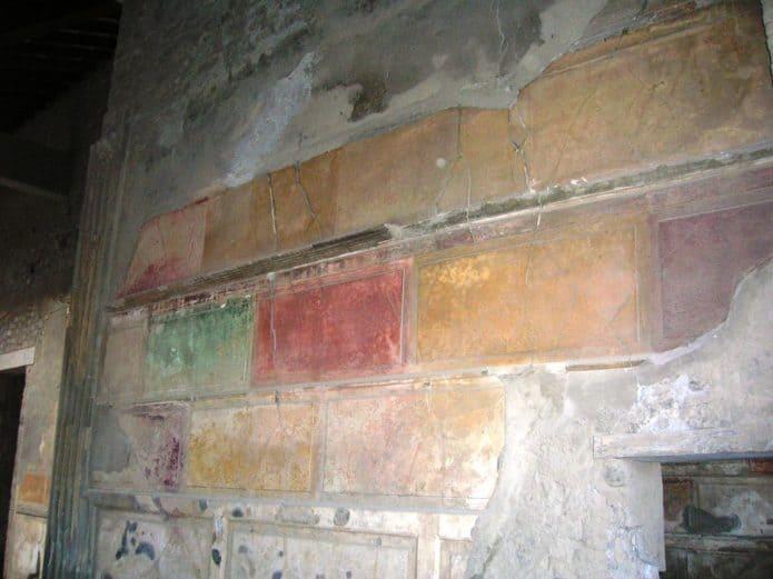 Visitare Pompei - La casa di Sallustio