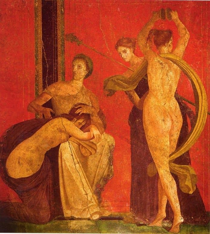 Villa dei Miisteri Pompei - sCosa rappresenta il ciclo di affreschi